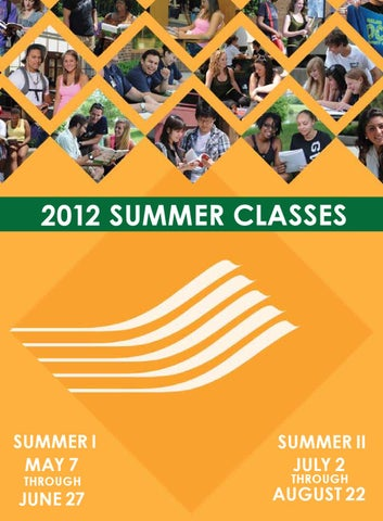Occ Schedule Of Classes Summer 2020.2012 Oakland Community College Summer Schedule Of Classes By
