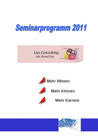 Seminarprogramm 2012 by C. Heimann-Lies - issuu