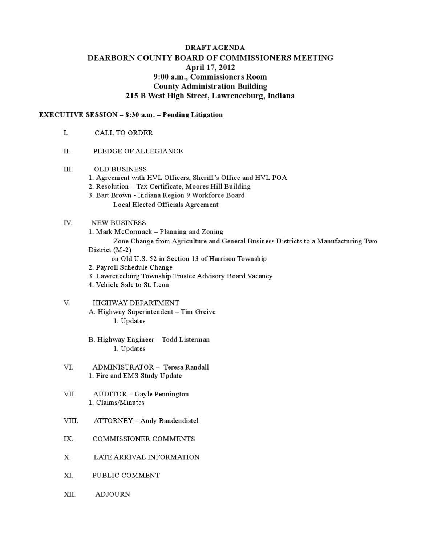 application general certificate of pending litigation