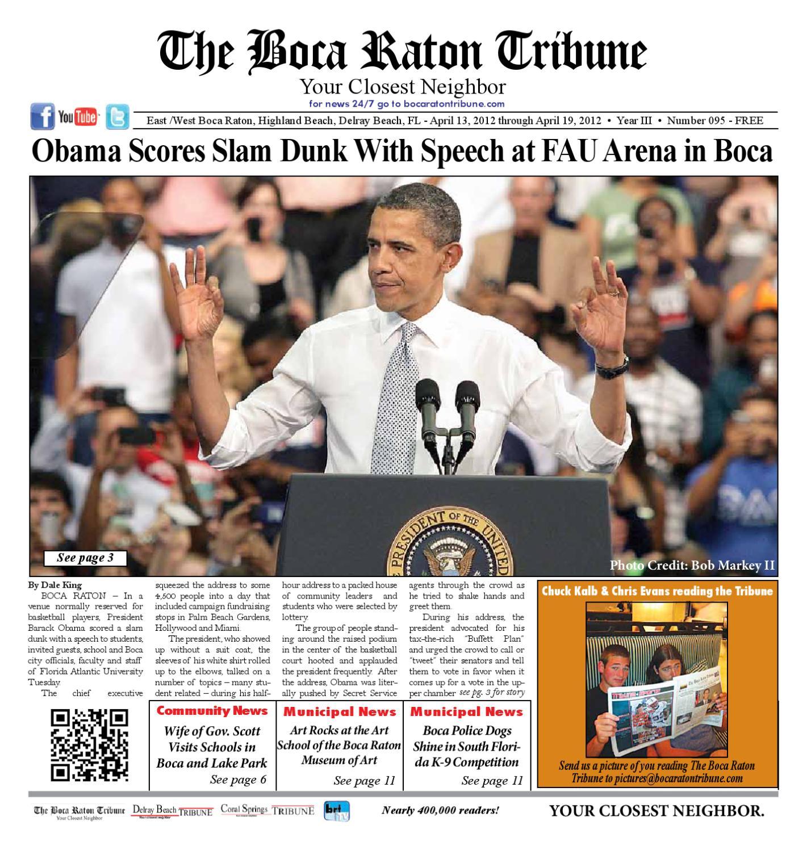 The Boca Raton Tribune ED 95 by The Boca Raton Tribune - issuu