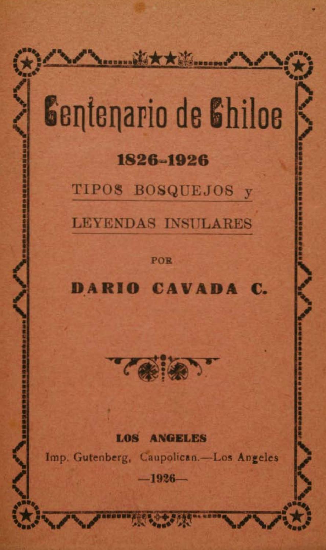 Centenario de Chiloé by rodolfo manzo - issuu