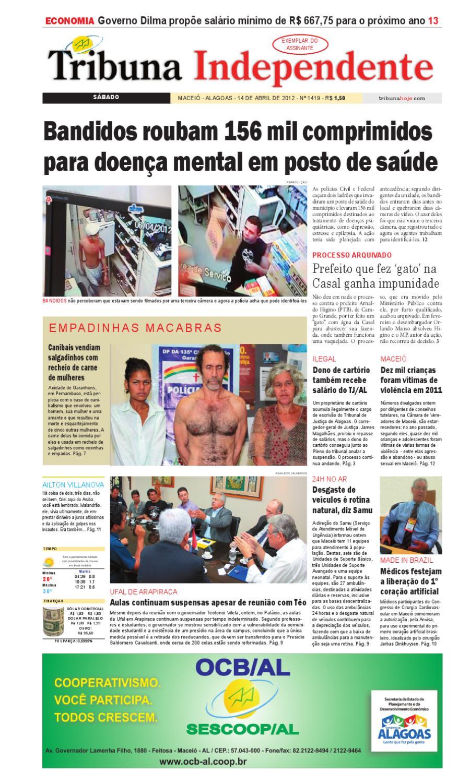 Edição número 1419 14 de abril de 2012 by Tribuna Hoje - issuu 444c31e488ebe