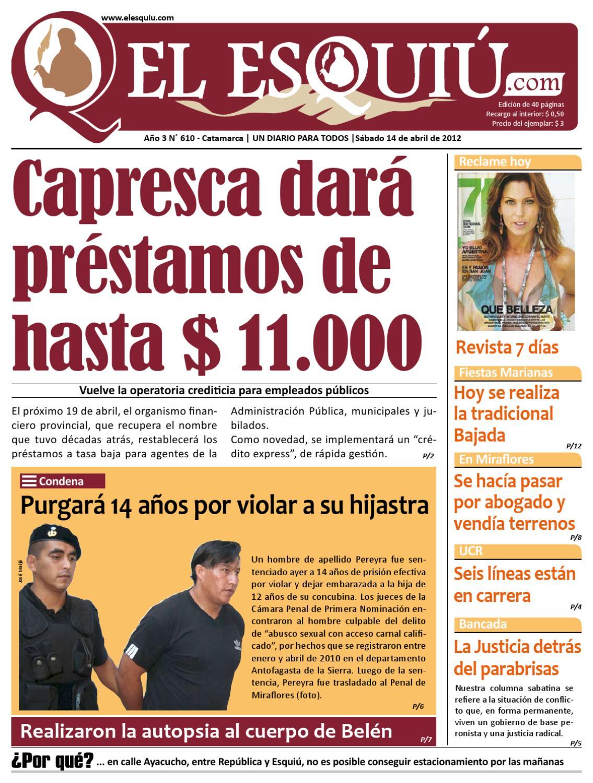 El Esquiu Com S Bado 14 De Abril De 2012 By Editorial El Esqui  # Muebles Yoma Antofagasta