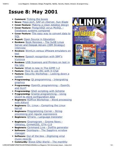 Linux Magazine UK 008 By Добавил Добавил   Issuu