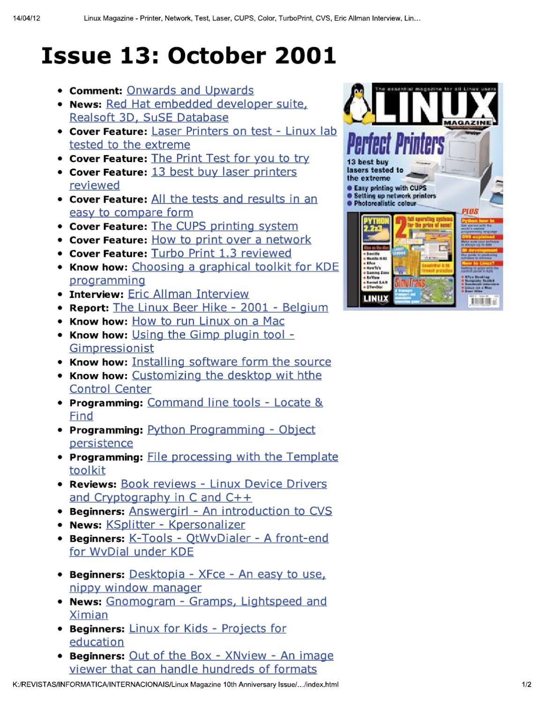 linux magazine uk 13 by Добавил Добавил - issuu
