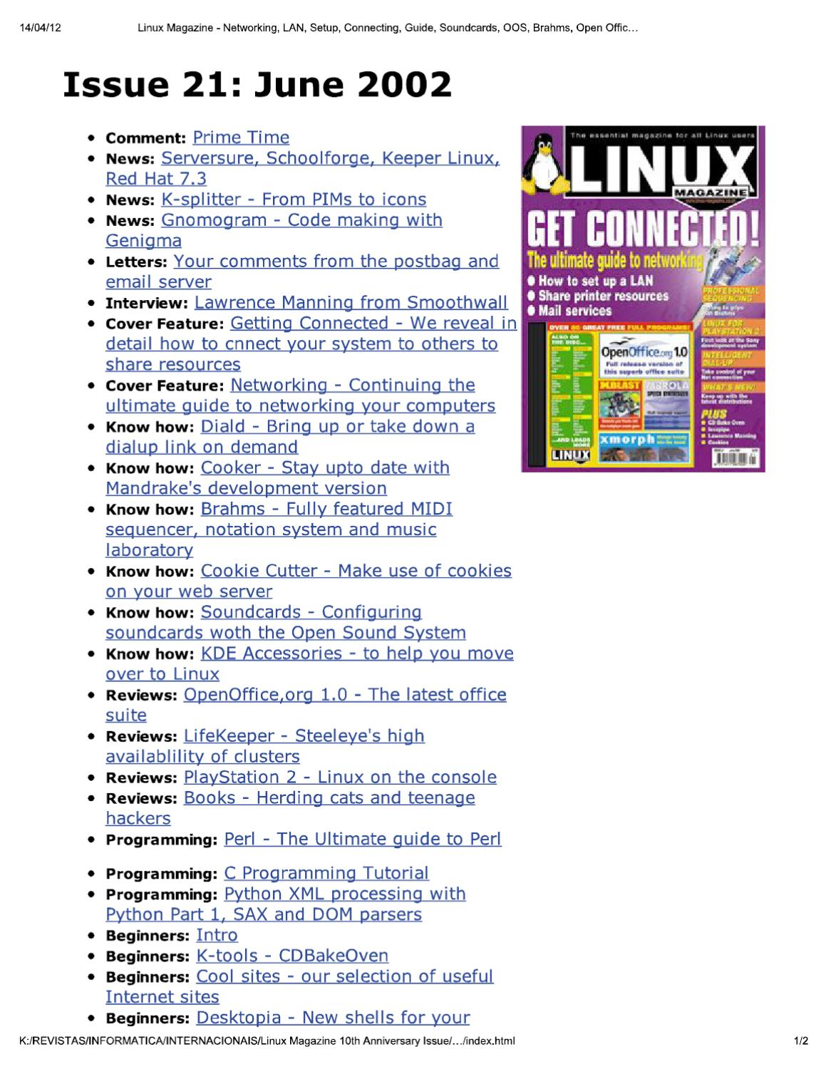 Linux: a selection of sites