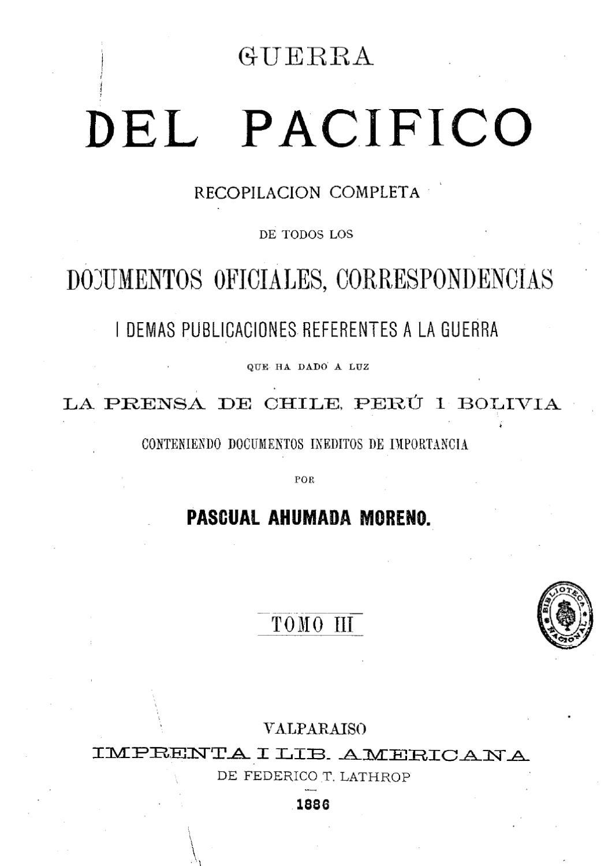 2d78e96e71 Guerra del Pacífico by rodolfo manzo - issuu