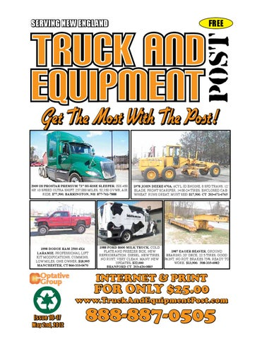 Truck And Equipment Post - Issue #16-17, 2012 by 1ClickAway - issuu