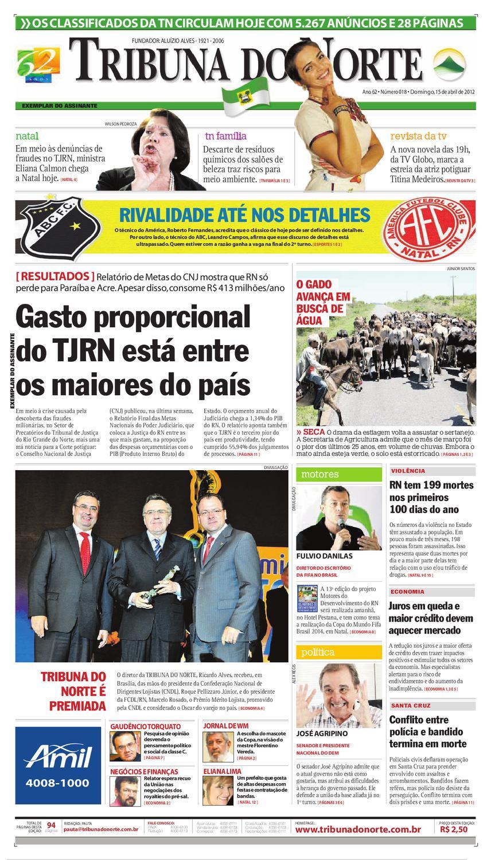 Tribuna do Norte - 15 04 2012 by Empresa Jornalística Tribuna do Norte Ltda  - issuu 26dc7d24ce