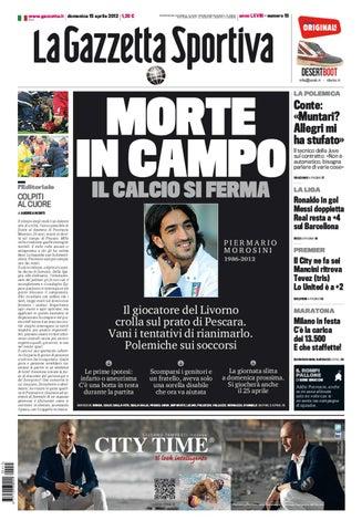 La Gazzetta dello Sport - 15 04 2012 by Luciano Amoroso - issuu 5e9d1dc72d09