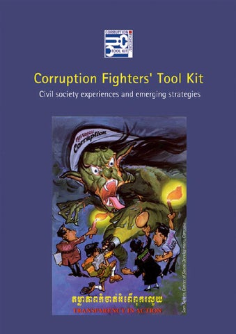Corruption Fighters Toolkit Civil Society Experiences And Emerging