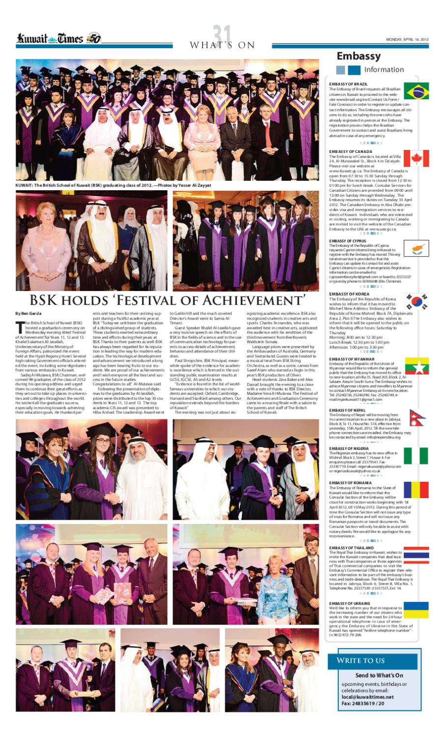 16 Apr 2012 by Kuwait Times - issuu