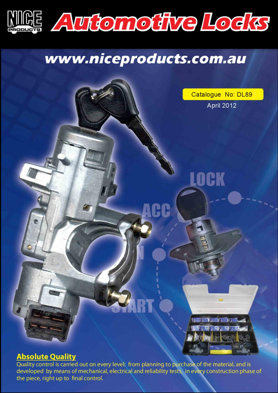 Suit Nissan Patrol G20 /& G60 Solex Anti Theft Door /& Tailgate Locks