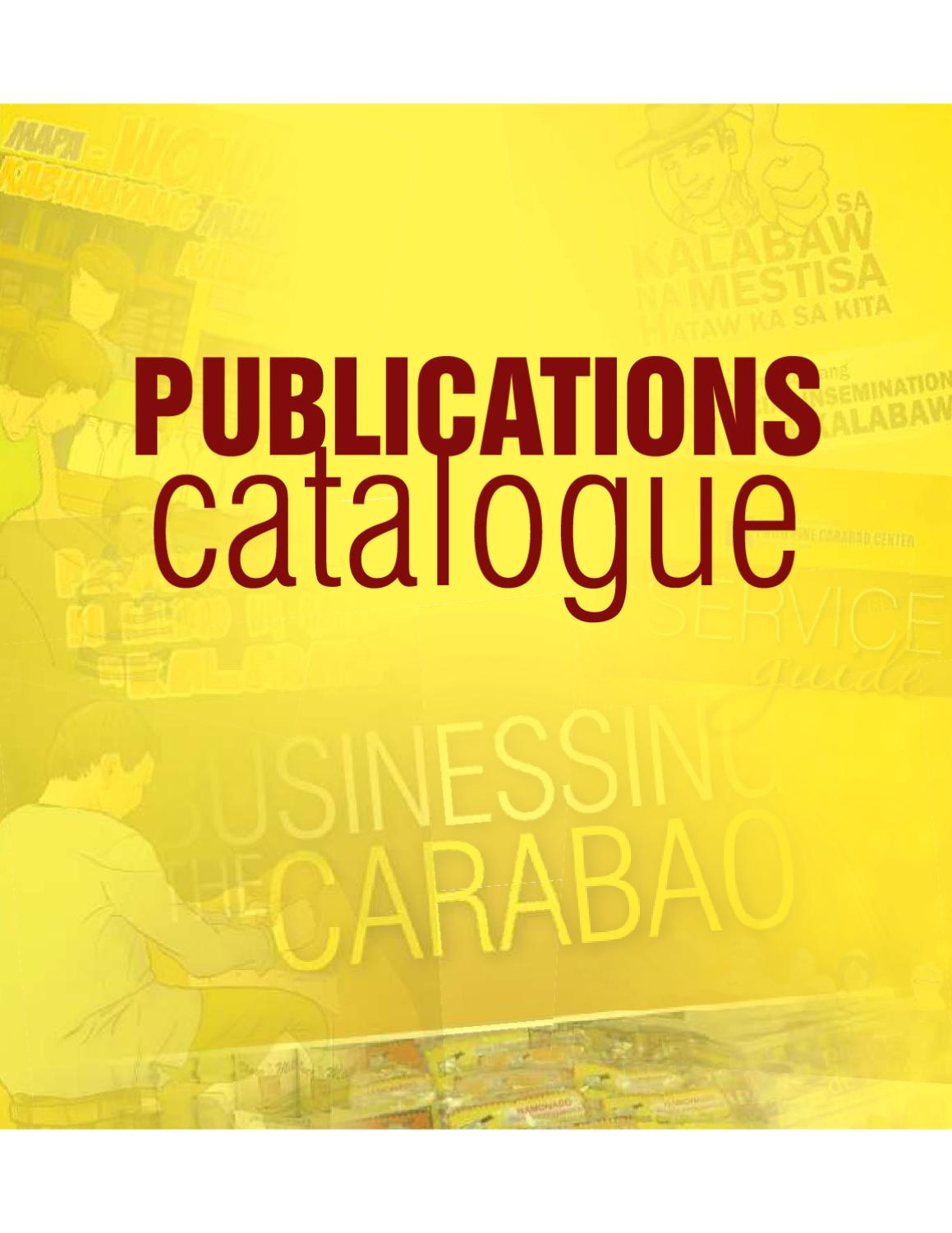 PCC Publication Catalogue by krmc library - issuu
