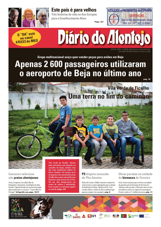 Ediçao N. 1564 by Diário do Alentejo - issuu edf1b7985961d