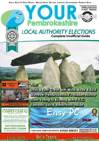 Your Pembrokeshire Issue 8: Local Election Special by MegaGroup