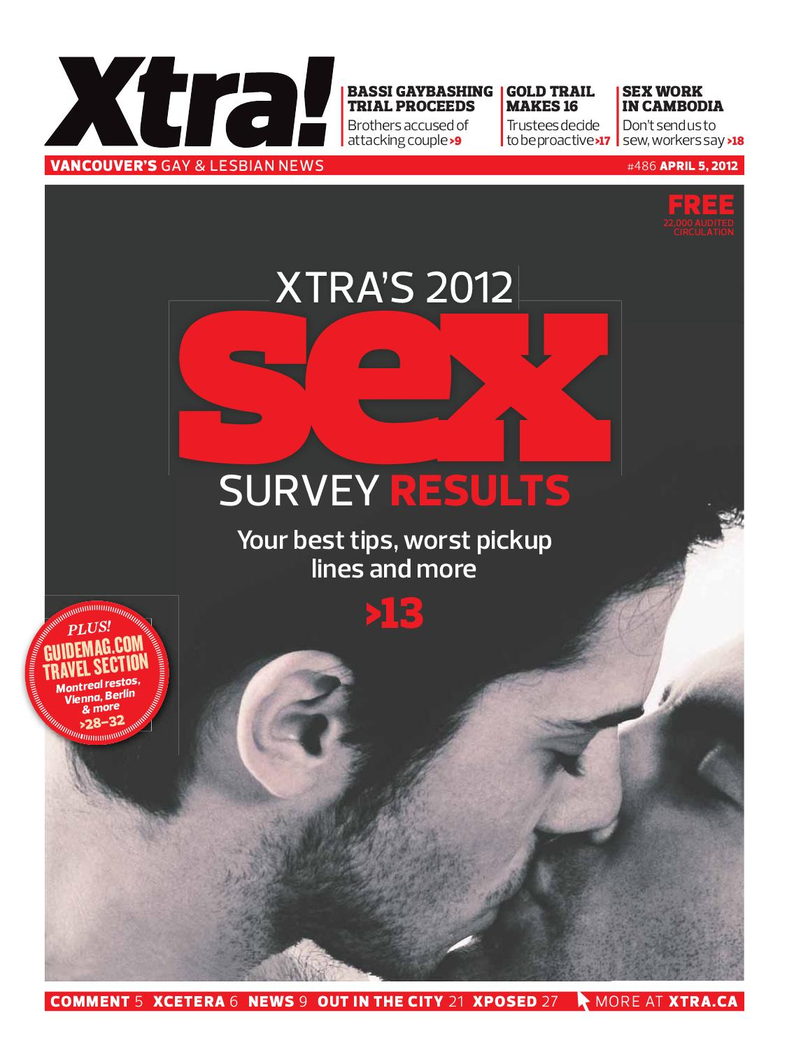 xtra - vancouver's gay and lesbian news issue 486pink triangle