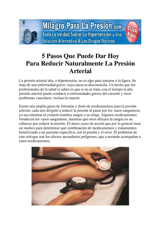 La hipertensión arterial causa presión arterial