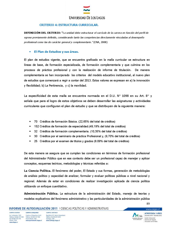 Informe Final Para La Acreditación Cipol By Centro De