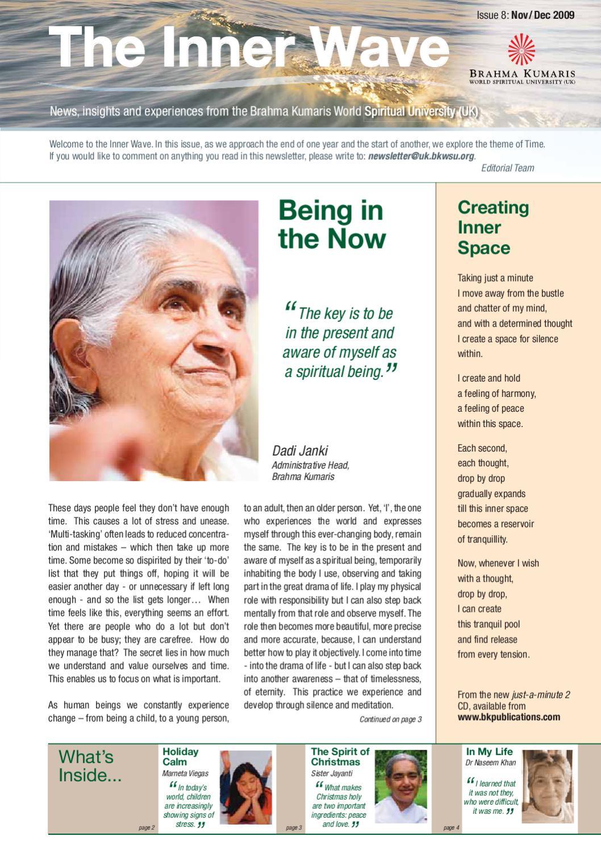 The Inner Wave Nov Dec 09 Pdf By Maithili Shetty Issuu