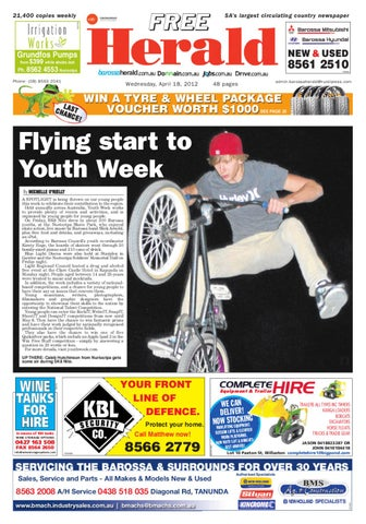 April 18th edition by barossa herald issuu page 1 malvernweather Image collections