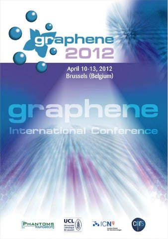 1a7a1a287f Graphene 2012 Abstract Book April 10-13