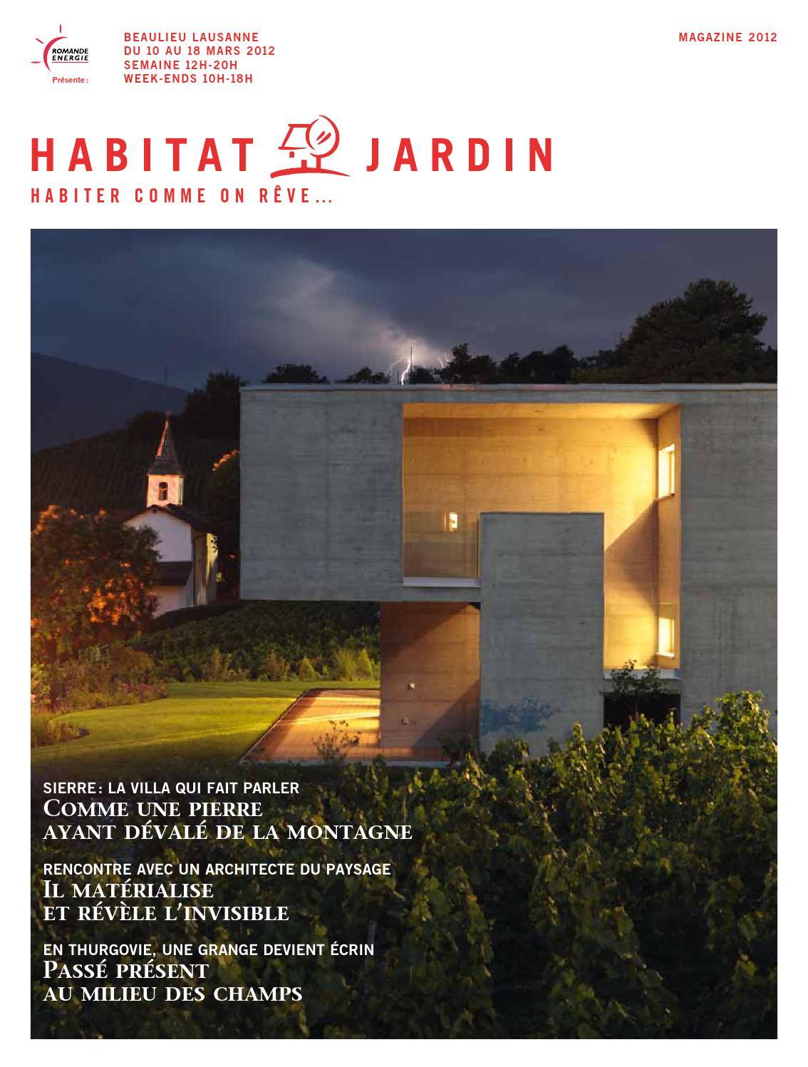 HabitatJardin By Inédit Publications SA Issuu - Plinthe carrelage et tapis roulant immergé pour chien d occasion