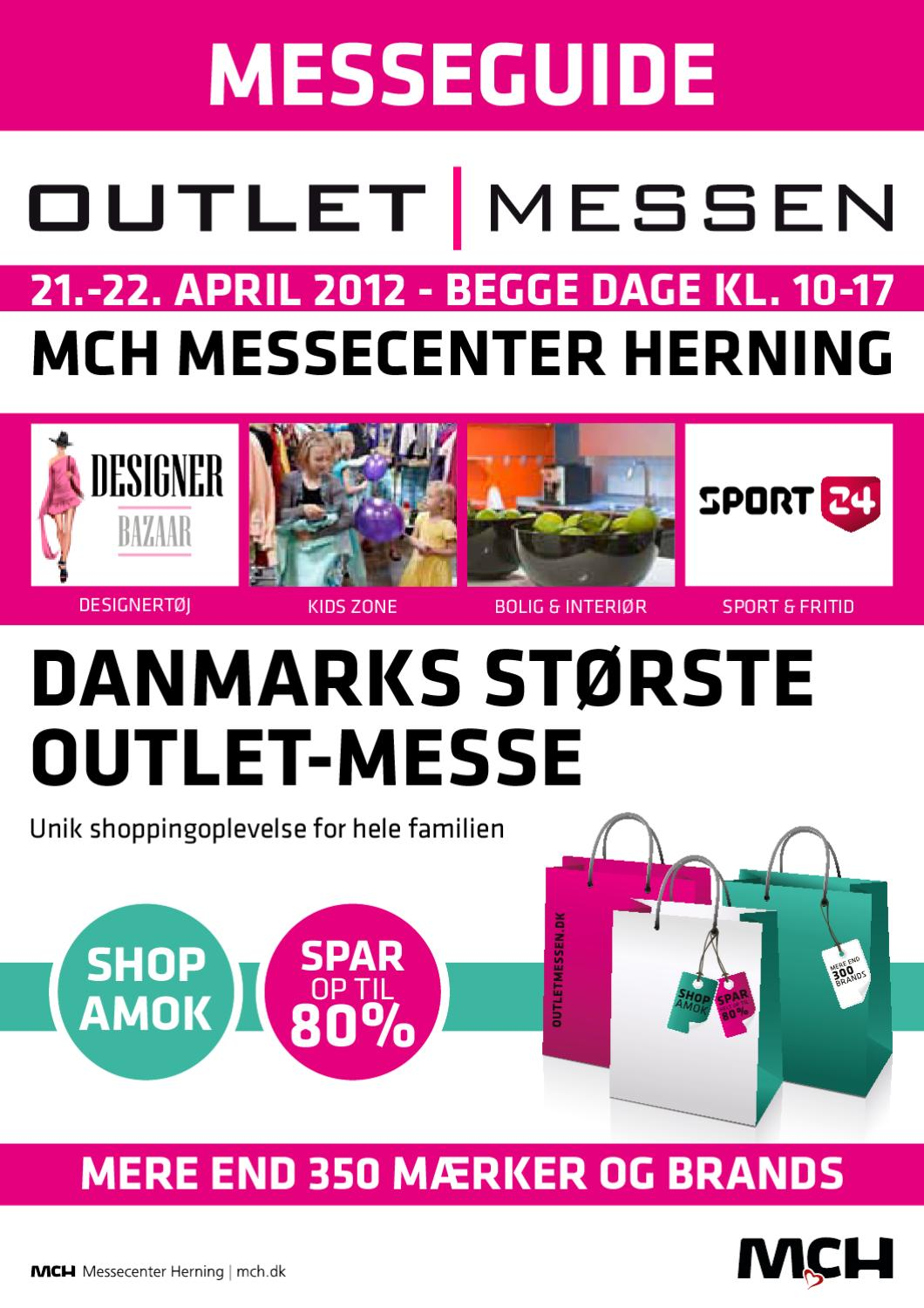 Messeguide Outlet Messen forår 2012 by MCH Messecenter