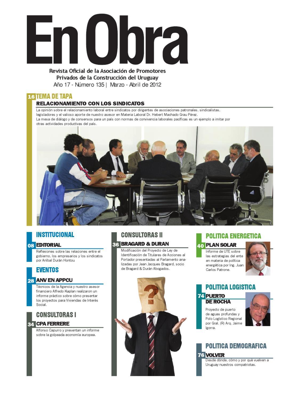 Revista En Obra 135 by Lucio Etchamendi - issuu