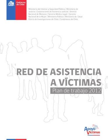 Red de asistencia a v ctimas by apoyo victimas issuu for Logo del ministerio de interior y justicia