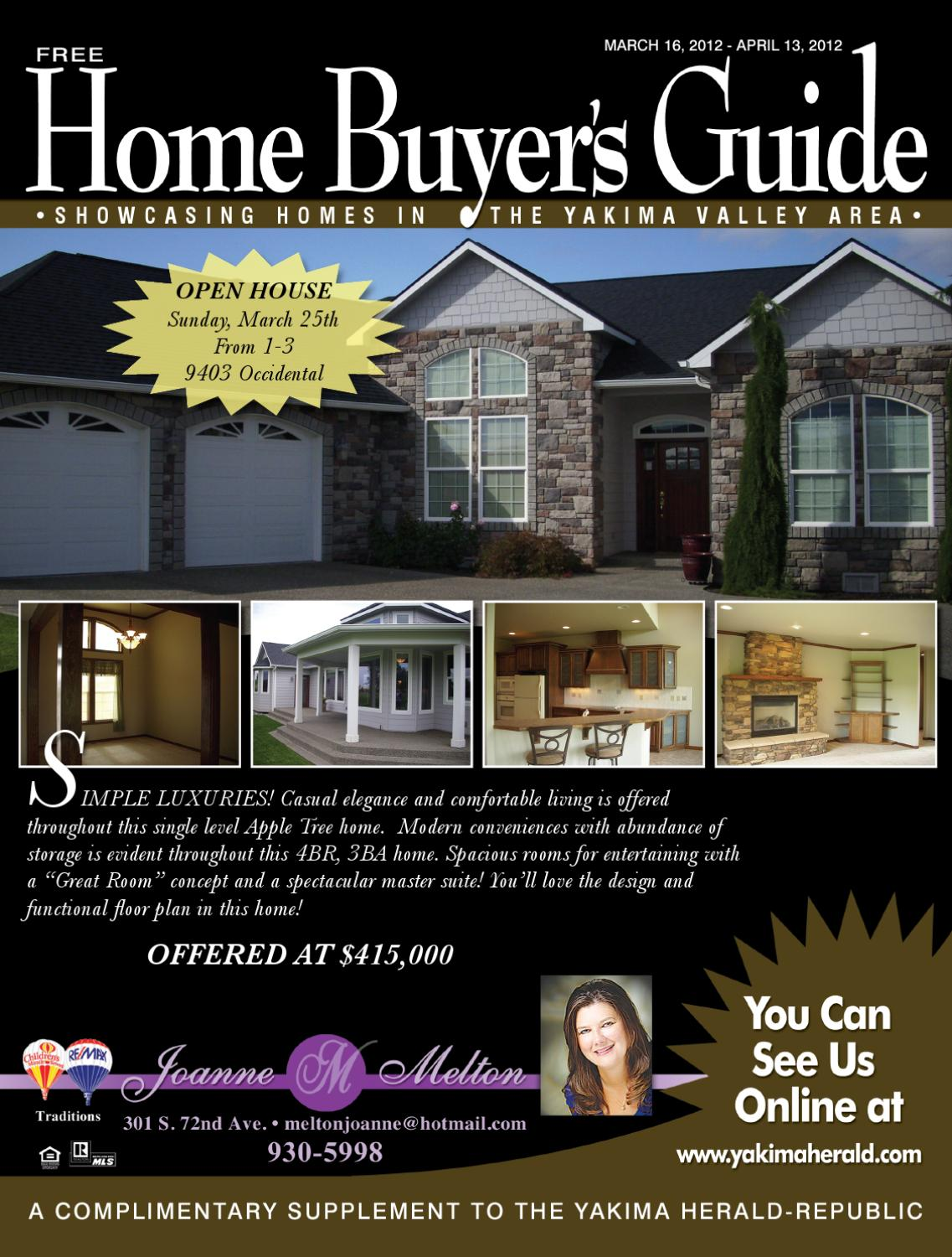 a41e10929475 Home Buyers Guide - Mar April 2012 by Yakima Herald-Republic - issuu