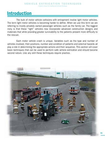 Vehicle Extrication Techniques by Holmatro by Eddie Wong - issuu