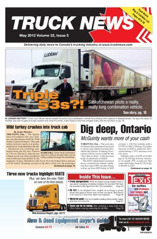 Truck News May 2012 by Annex Business Media - issuu on