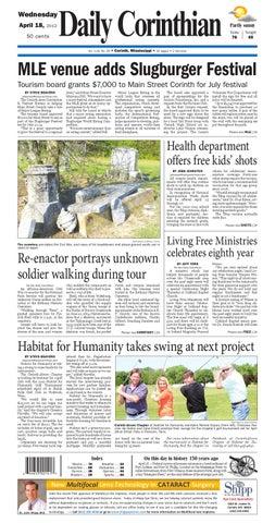 Daily Corinthian E Edition 041812 By Daily Corinthian Issuu