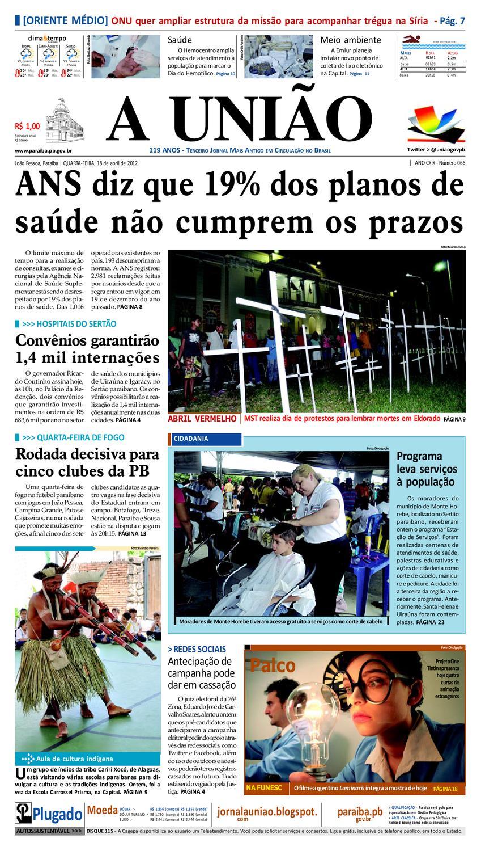 70a843d05ed Jornal A UNIÃO by Jornal A União - issuu