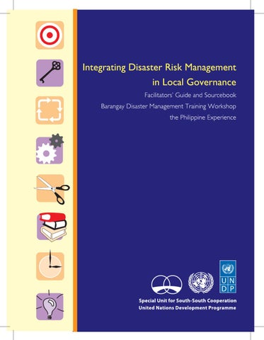 Integrating Disaster Risk Management in Local Governance by