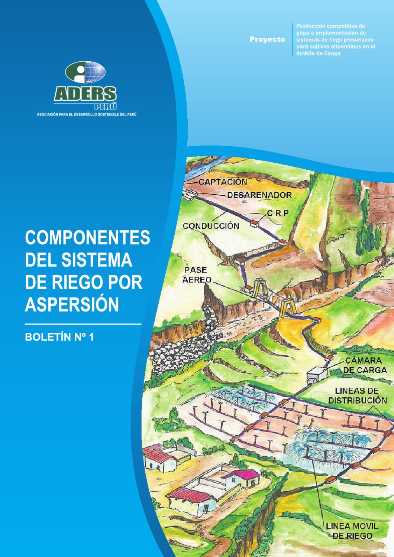 componentes del sistema de riego por aspersi n by floiro