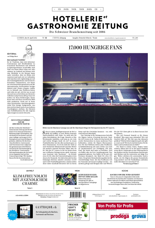 Hetg Zeitung 12 2012 By Hotellerie Gastronomie Verlag Issuu