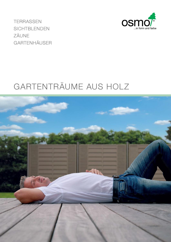 osmo garten 2012 by holzland dostler gmbh issuu. Black Bedroom Furniture Sets. Home Design Ideas