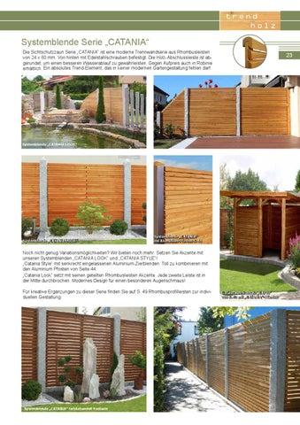 Larchenholz Sichtschutz Trend Holz By Holzland Dostler Gmbh Issuu