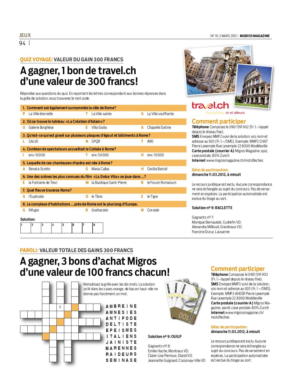 Migros Magazin 10 2012 F Bl By Migros Genossenschafts Bund Issuu