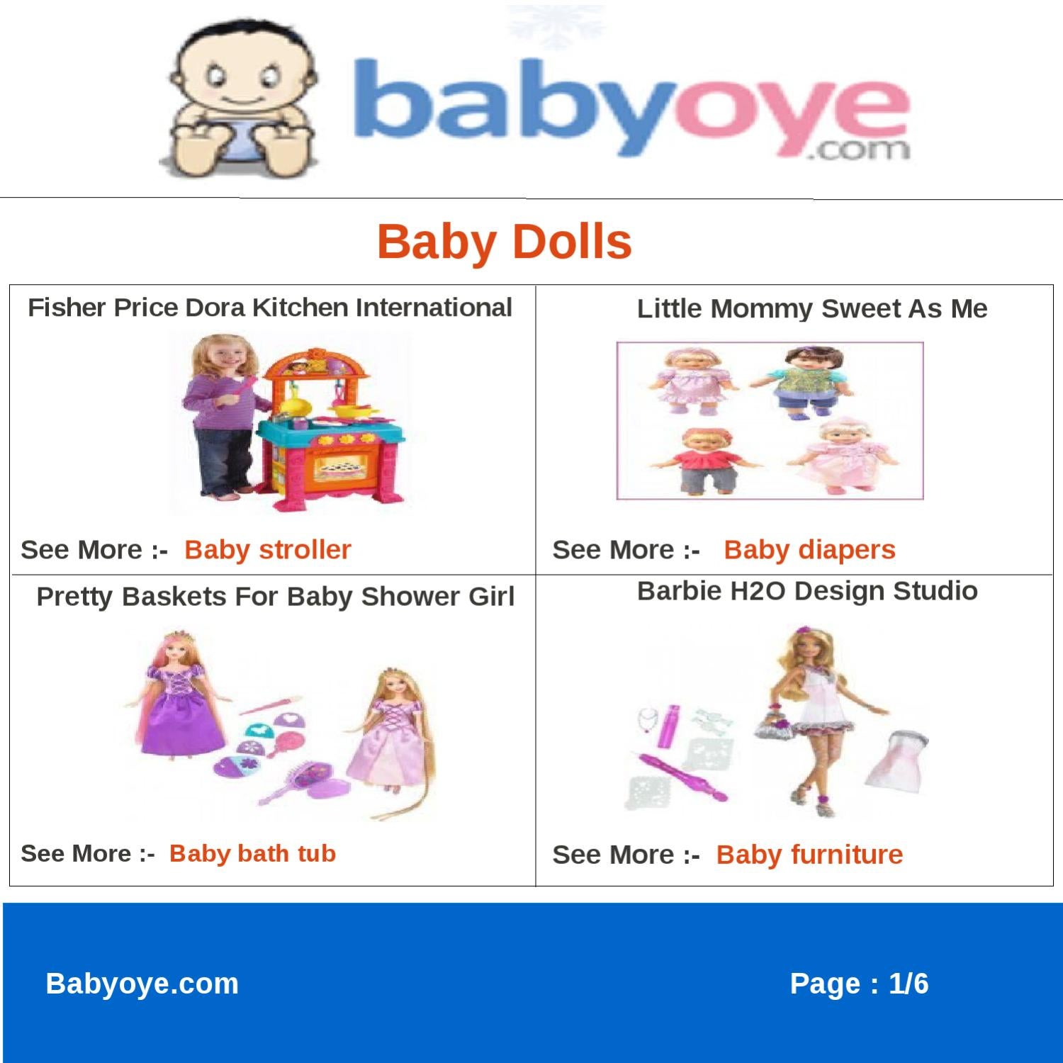 Baby Dolls By Babyoye Team Issuu
