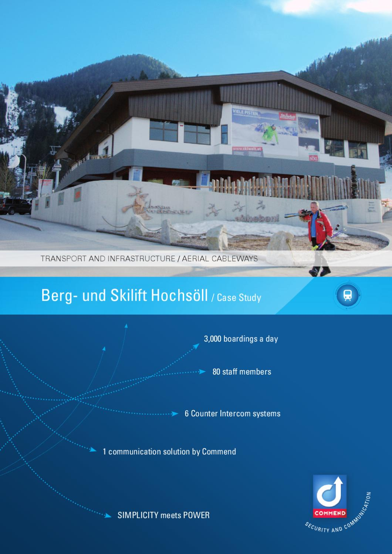 cs austria berg und skilift hochs ll gmbh co kg transport infrastructure en by commend. Black Bedroom Furniture Sets. Home Design Ideas