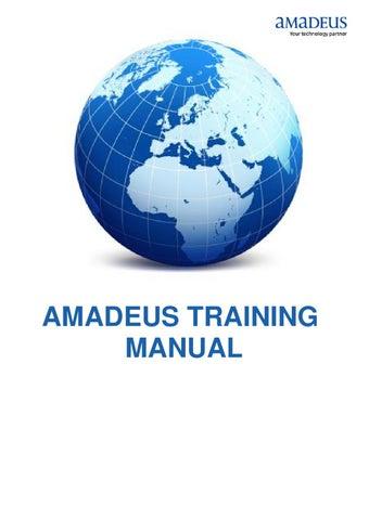 amadeus training manual by amadeus qatar w l l issuu rh issuu com amadeus training manual pdf francais amadeus training manual pdf francais