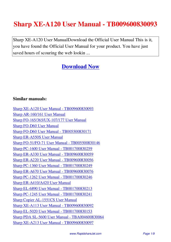 repair manual sharp sf 2025 sf 2030 digital copier