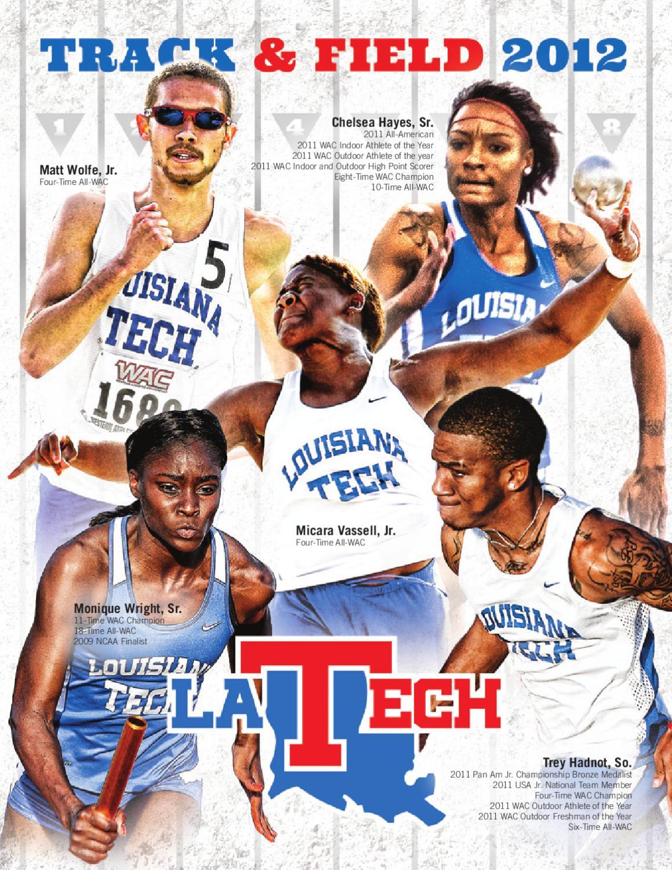 2012 Louisiana Tech Track Field Media Guide By Ttec4841 Electrical Corey Leonard April 2011 Athletics Issuu