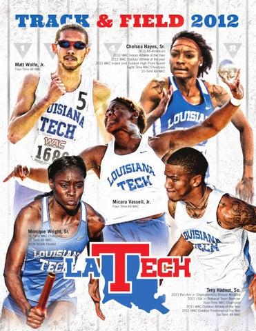 c4571f344383 2012 Louisiana Tech Track   Field Media Guide by Louisiana Tech ...