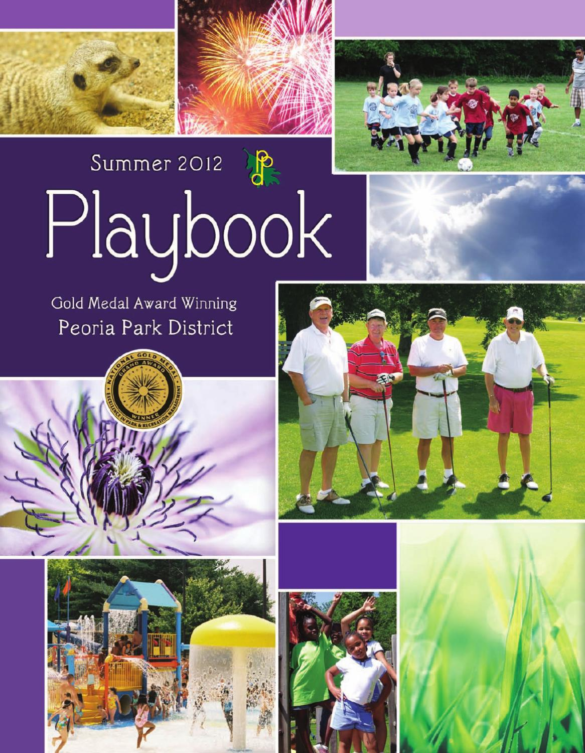 dirt cheap best authentic quite nice Peoria Park District Playbook - Summer 2012 by Peoria Park ...