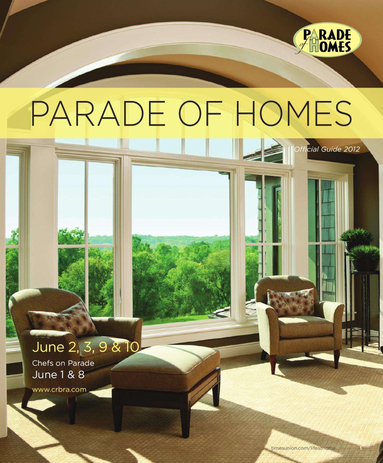 Parade Of Homes Official Guide 2012 By Emily Jahn