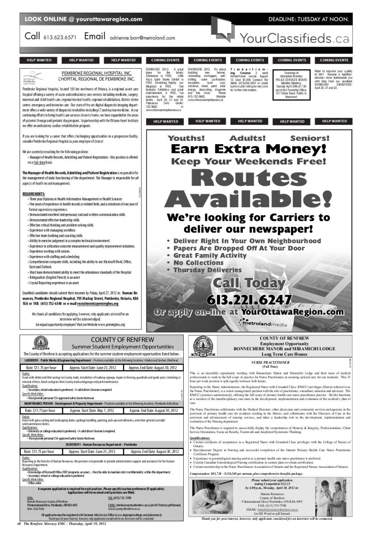 renfrew mercury emc by metroland east - renfrew mercury - issuu